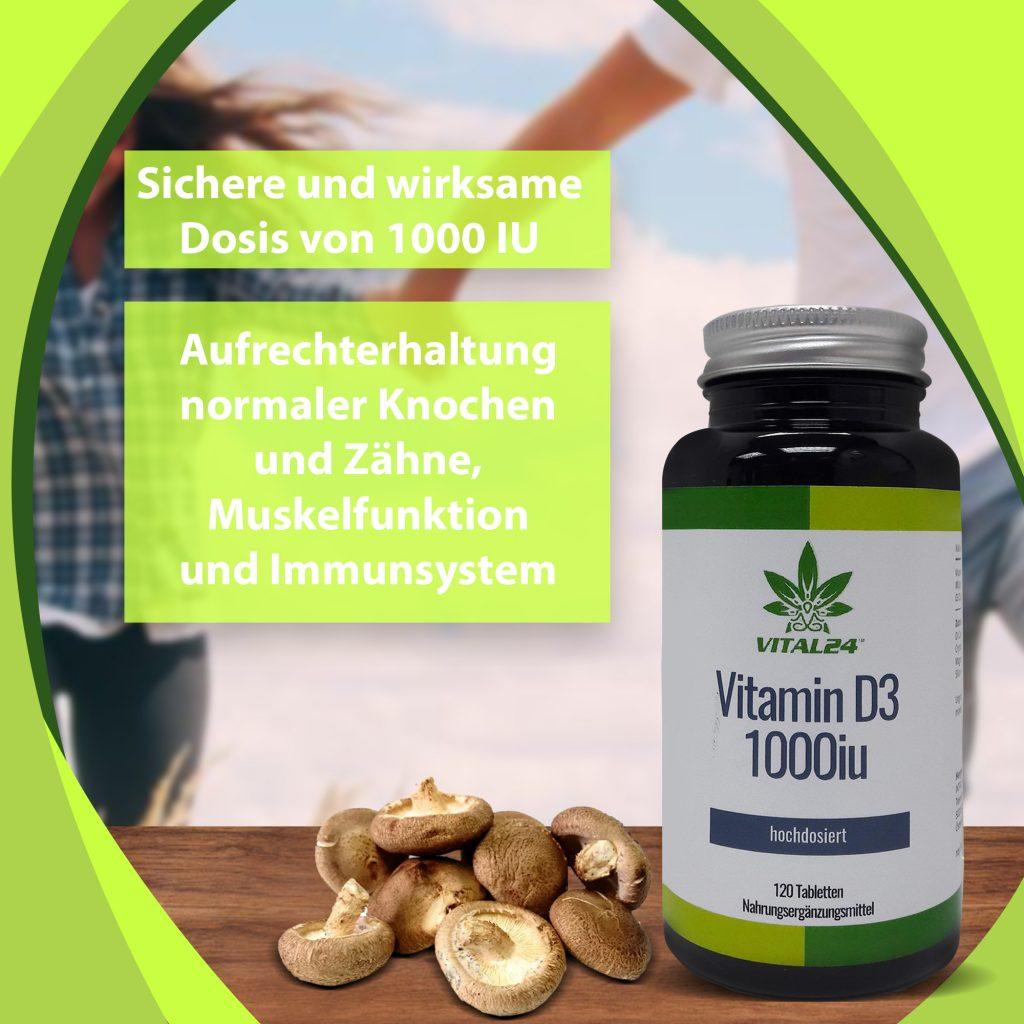 vitamin d3 hochdosiert kapseln